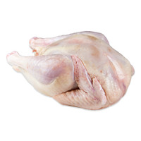 French Poulet Rouge whole chicken, raw