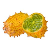 fresh kiwano melons